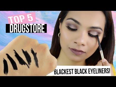 Best Drugstore Black Eyeliner For Waterline   Sensitive & Watery Eyes 2018