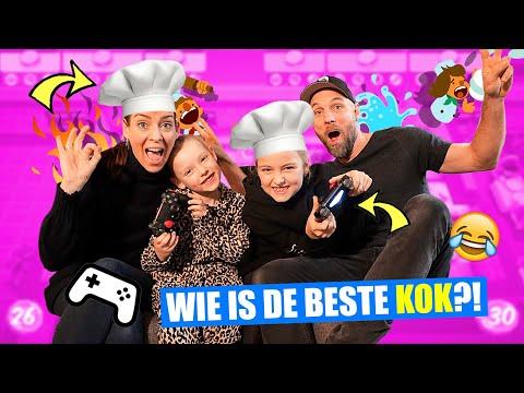 GAMEN met onze VADER EN MOEDER!! [Overcooked Spelen Op PS4] ♥DeZoeteZusjes♥