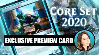Exclusive Core Set 2021 Preview Card (sponsored)