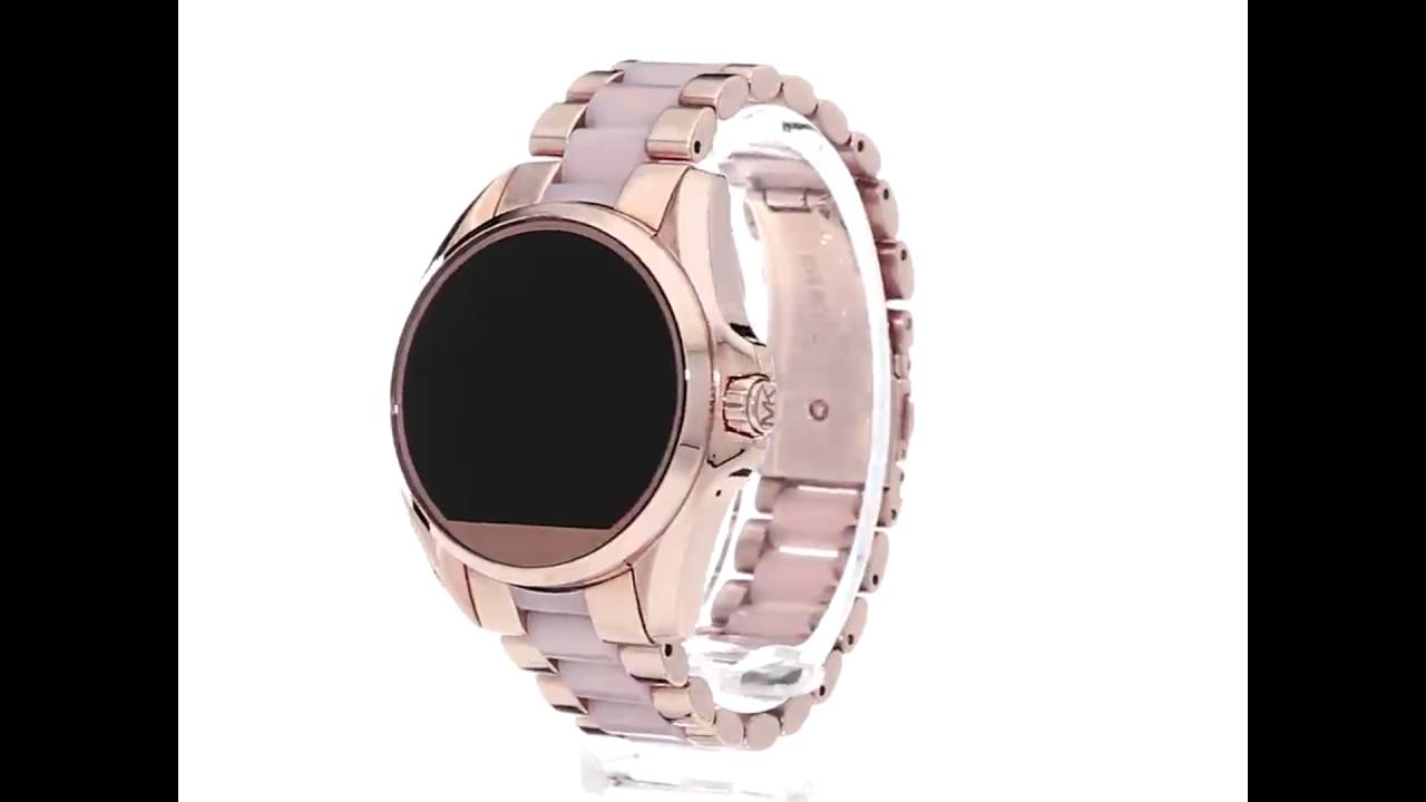 Relógio Michael Kors Access Touch Digital Ouro Rosé MKT5013 - YouTube e389afa565