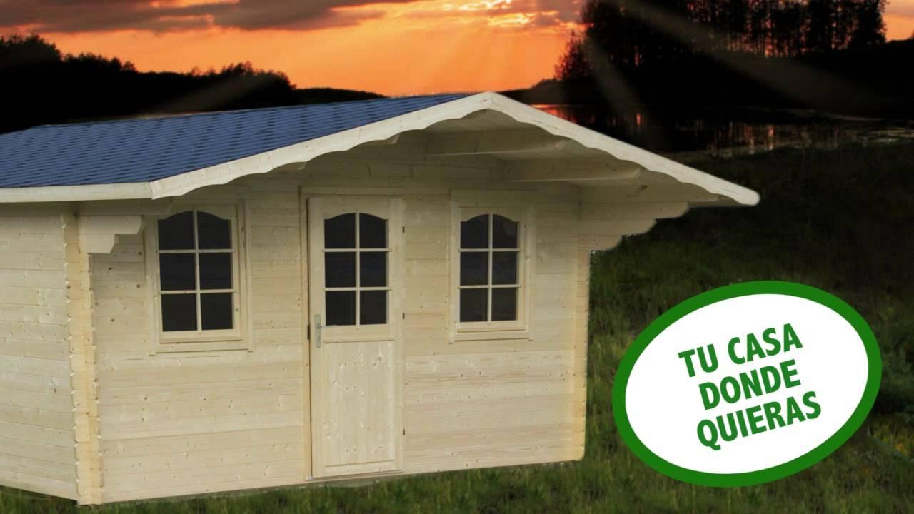 bcc83857a3b Venta de casas de madera para camping en Orense y Pontevedra - YouTube