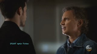 Once Upon A Time 7x02 Weaver (Rumple) Suspicious of Rogers (Hook) a...