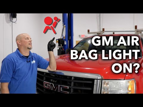 Air Bag Light On GM Truck? How to Fix This Common Sensor Problem