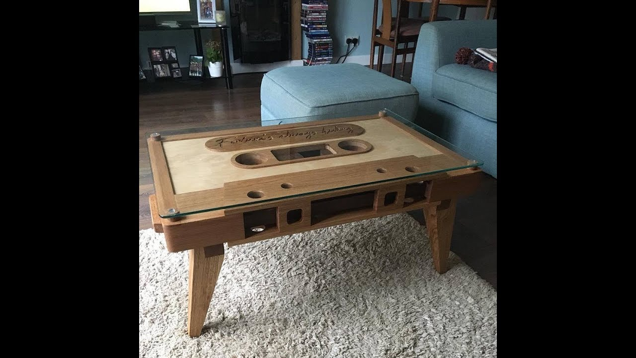 3d Puzzle Furniture Coffee Table With Japanese Lock System