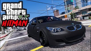 GTA V HITMAN - BMW M5 BLINDADA  ASSASSINA #9