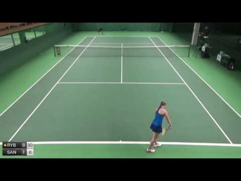 Rybakina Elena v Santamaria Sabrina - 2016 ITF Helsinki