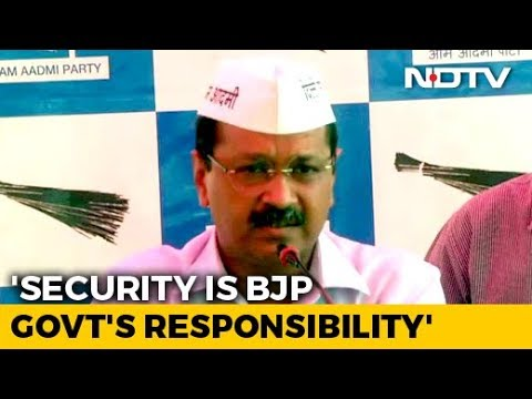 """Security Lapse """"Strategic""""? Arvind Kejriwal Says Attempts Made To End AAP"""