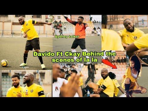 Download Davido - La la ft. Ckay (Behind the scenes) / Celebrities you didn't notice