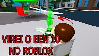 Roblox - VIREI O BEN 10!!! (Ben 10 AoA) (Roblox)#92