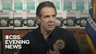 N.Y. Governor Andrew Cuomo demands thousands of ICU beds and ventilators