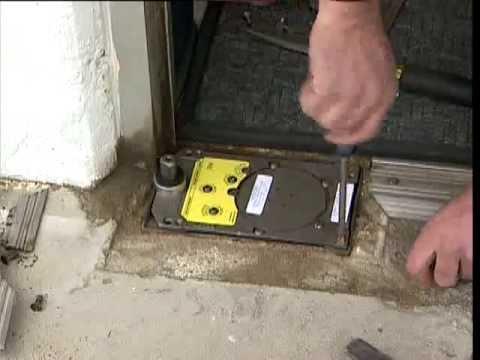 replacing a rixson floor closer - youtube