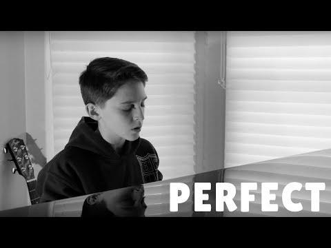 Perfect (Ed Sheeran) Cover by 14-year-old boy Luke Bonenfant