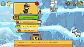 Scribblenauts Unlimited Exclamation Point Walkthrough