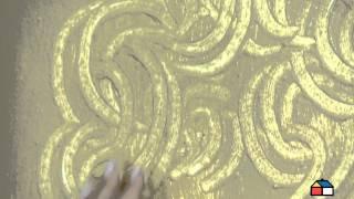 Técnica de pintura Sahara