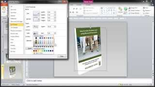 How to: Create Free 3D cover art for ebook with Microsoft Powerpoint