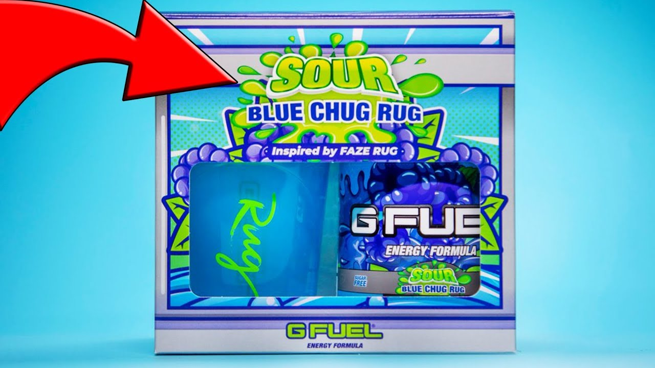 New Gamma Labs G Fuel Sour Blue Chug Rug Sour Blue Razzberry Coming Very Soon Youtube