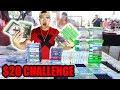 THE $20 FLEA MARKET CHALLENGE!! **EPIC STEALS**