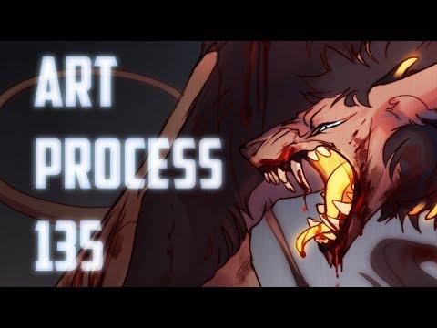 Speedpaint.135 Wrath (commission)