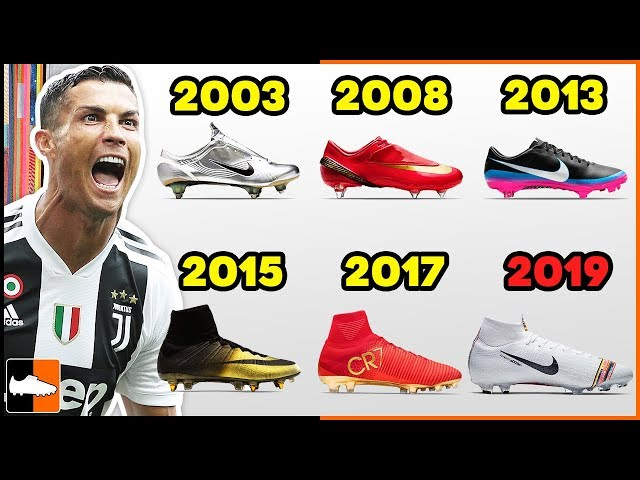new product 3e467 dd15d The goal scoring machine of Cristiano Ronaldo currently wears the ultra  responsive Mercurial Superfly V boot designed by Nike which not only  incorporates ...