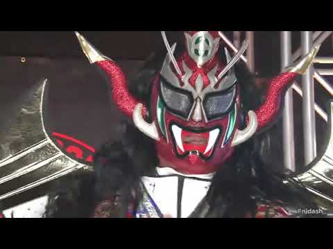 Jushin Thunder Liger Retirement Ceremony Entrance At New Japan New Year Dash 2020