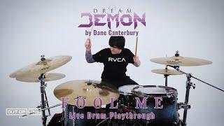 Miniatura do vídeo Dream Demon - Fool Me (drum playthrough by Dane Canterbury)