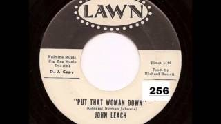 John Leach .   Put that woman down .