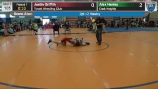2026 Schoolboy 105 Justin Griffith Tyrant Wrestling Club vs Alex Hanley Dark Knights 4140726104