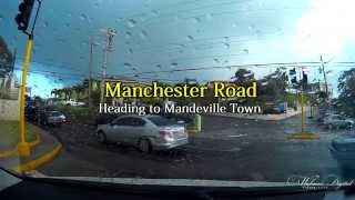 Mandeville Jamaica after a rainy day part 1