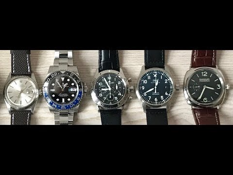 PAID WATCH REVIEW FOR LEON - Rolex, Breguet, IWC, Panerai But Wants More!