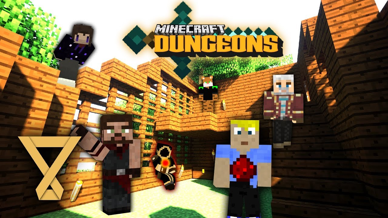 Insel Adventure Minecraft Dungeons 1 Let S Play