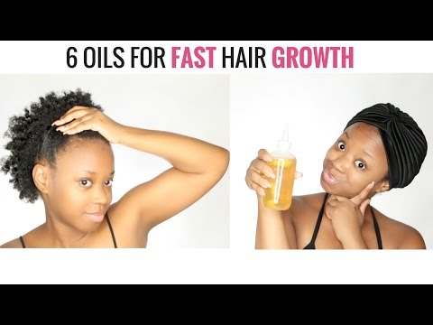 6 Oils For Fast Hair Growth (OIL MIXING DEMO)