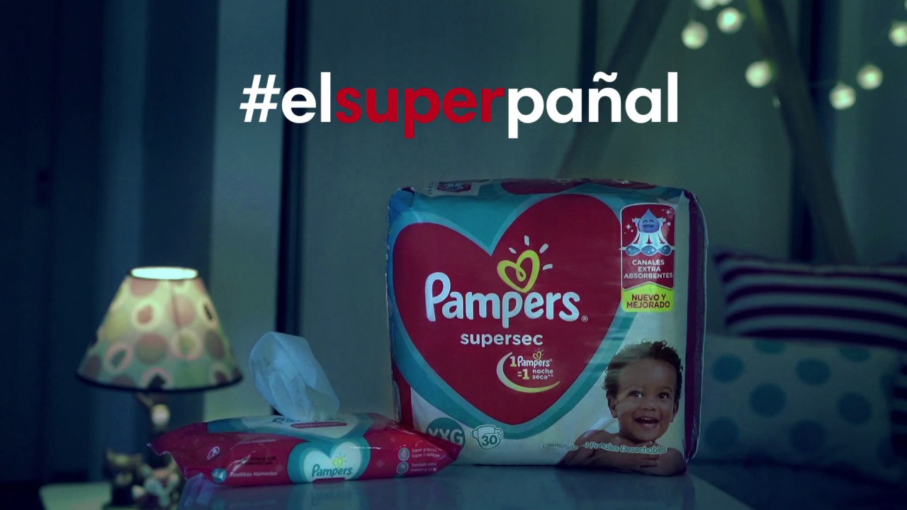 Pampers Supersec, el super pañal | Pampers Argentina