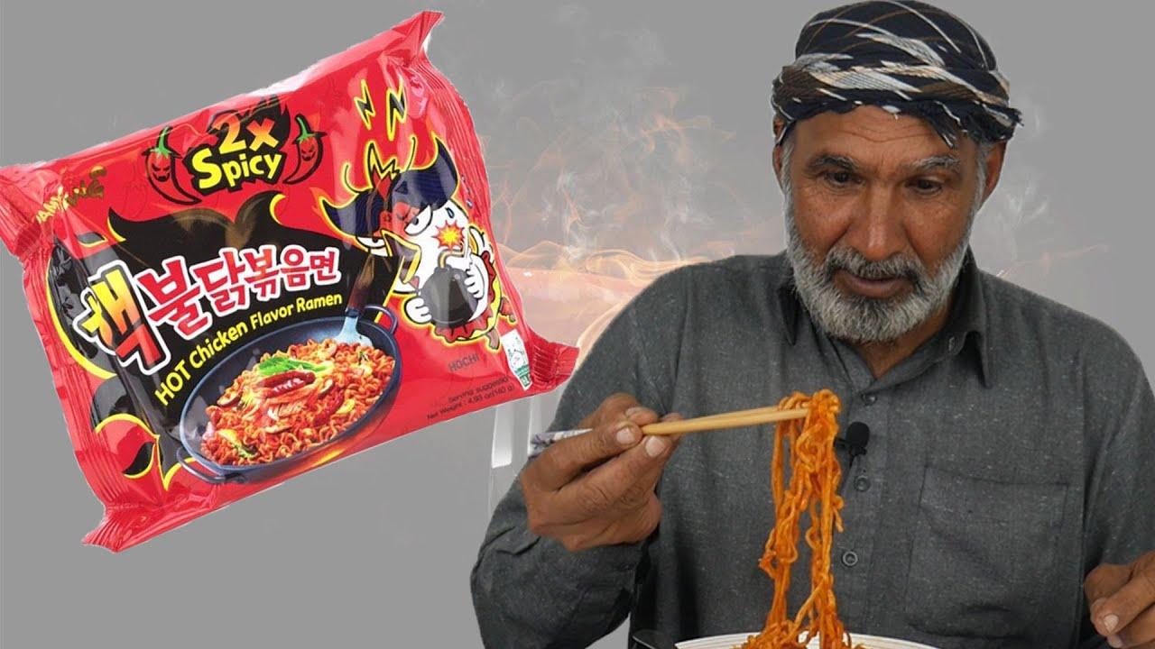 Download Tribal People Try Spicy Ramen Noodles Challenge