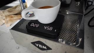 Making a Cappuccino with the Vibiemme Domobar Junior HX Espresso Machine