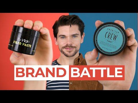 By Vilain Fiber Paste Vs. American Crew Fiber | Brand Battle