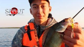 Ловля щуки и окуня на вертушки (вращающиеся блёсна) SPRUT Hochi и Oruto. Kamfish