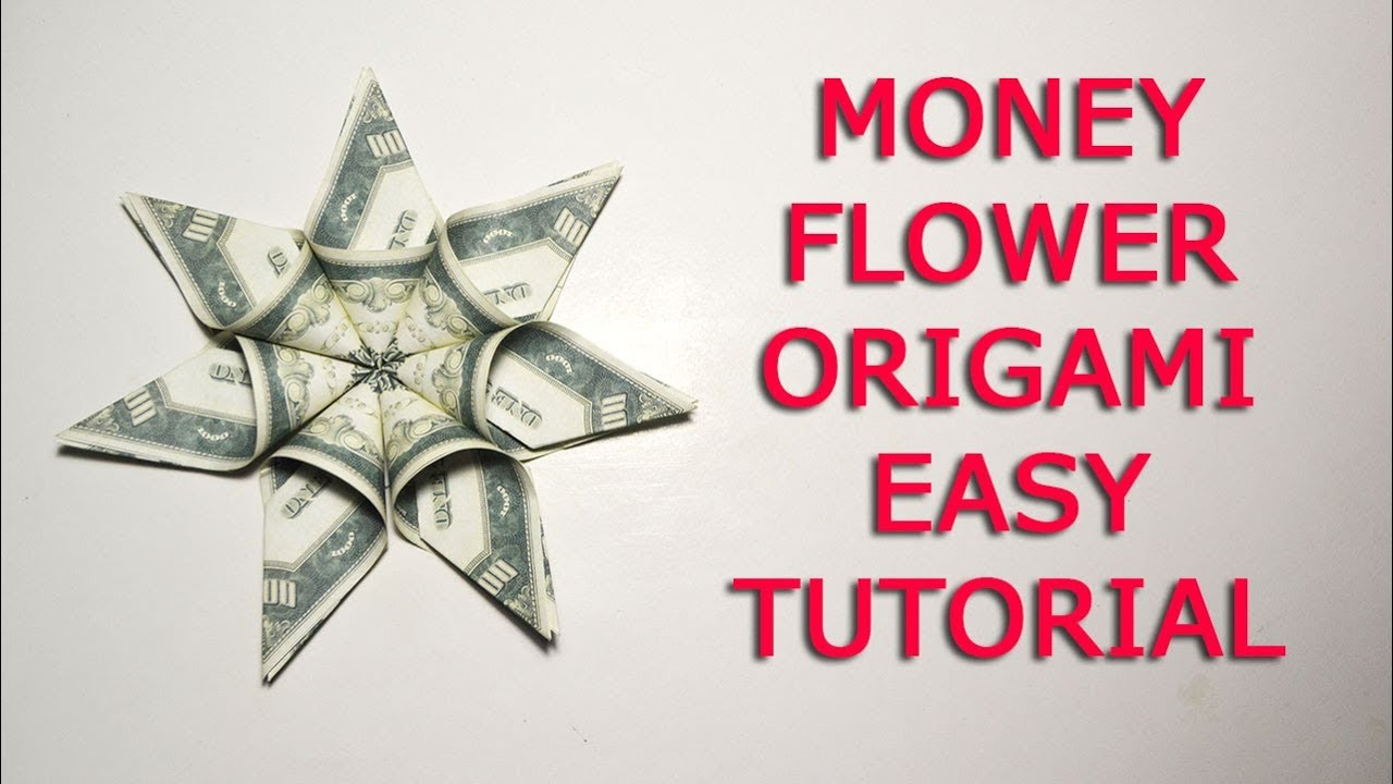Easy tutorial money flower dollar origami diy youtube easy tutorial money flower dollar origami diy jeuxipadfo Image collections