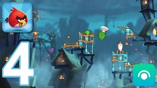 Angry Birds 2 - Gameplay Walkthrough Part 4 - Levels 16-22 [Chef Pig Boss] (iOS, Android)