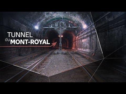 Une visite dans le tunnel centenaire du Mont-Royal