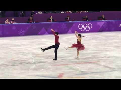 Alex Shibutani and Maia Shibutani 2018 Pyeongchang Olympic Free Dance 11486