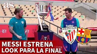BARCELONA vs ATHLETIC | MESSI, CAMBIO DE LOOK para la FINAL | DIARIO AS