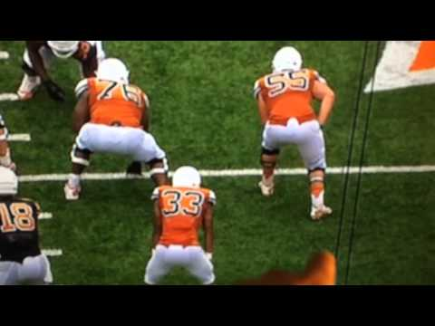 Connor Williams Spring Game Play 2015
