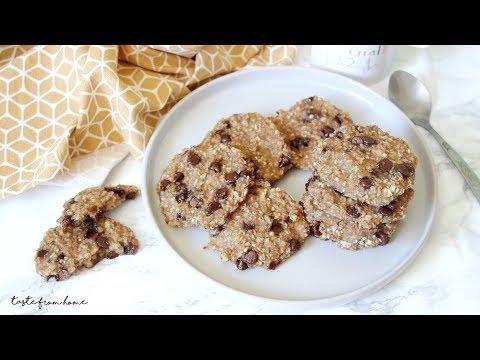 COOKIE YẾN MẠCH GIẢM CÂN CHỈ VỚI 3 NGUYÊN LIỆU – Oatmeal Cookies | Episode 163 | Taste From Home