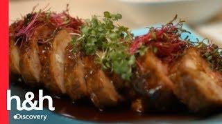 Lomo de cerdo con salsa de naranja y vino increíble – Recetas para Compartir l Discovery Channel