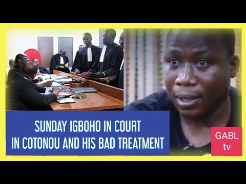 Sunday Igboho Reportedly set to appear in Court in Cotonou, Benin Rep. as He's Being Treated B@dly