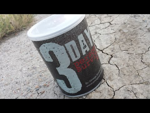 Budget 72 Hour Survival Kit in a Can Review — $19.95