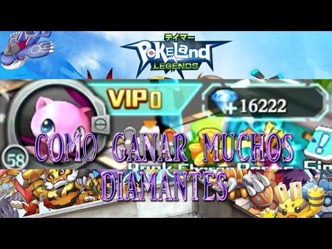 POKELAND LEGENDS | COMO GANAR DIAMANTES | GAMEPLAY EN ESPAÑOL