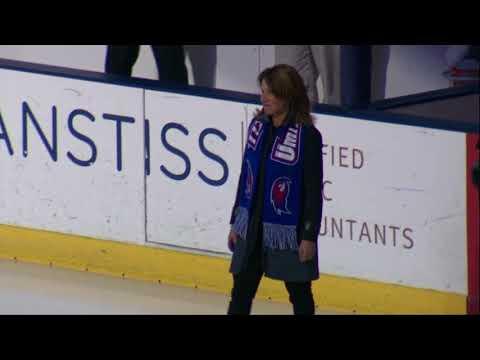 Lt. Gov. Karyn Polito Drops Puck for UMass Lowell vs. BU | December 8, 2017