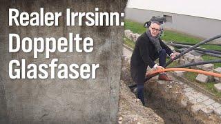 Realer Irrsinn: Doppelt gelegte Glasfaserkabel | extra 3 | NDR