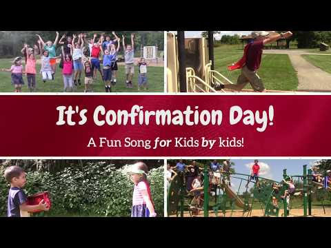 It's Confirmation Day! - A Confirmation Song for Kids